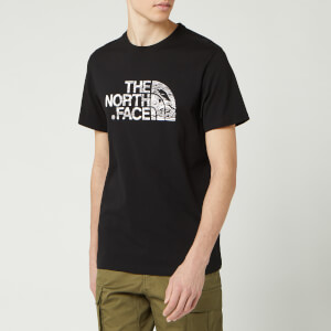 The North Face Men's Woodcut Dome T-Shirt - TNF Black
