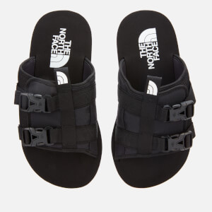 The North Face Men's Eqbc Slide Sandals - TNF Black/Fiery Red