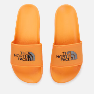 The North Face Men's Base Camp 2 Slide Sandals - Flame Orange/TNF Black
