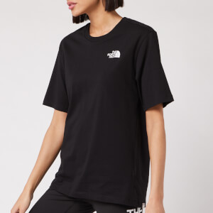 The North Face Women's Bf Simple Dome T-Shirt - TNF Black