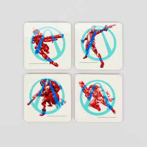 Borderlands 3 Square Coaster Set