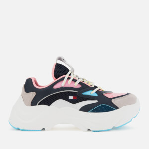 Tommy Jeans Women's Fashion Chunky Running Style Trainers - Twilight Navy