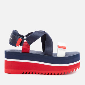 Tommy Jeans Women's Pop Color Flatform Sandals - Twilight Navy