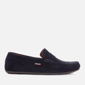 Tommy Hilfiger Men's Classic Suede Penny Loafers - Desert Sky