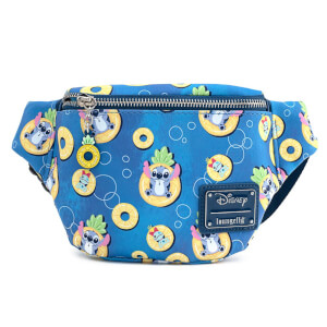 Loungefly Disney Lilo And Stitch Pinneapple Floaty Stitch Fanny Pack