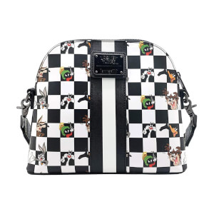 Loungefly Looney Tunes Black and Wihite Character Crossbody Bag