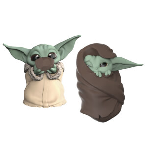 "Hasbro Star Wars: The Mandalorian Baby Bounties ""Soup and Blanket"" Mini Figures"