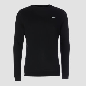 MP Men's Essentials Sweatshirt -collegepaita - Musta