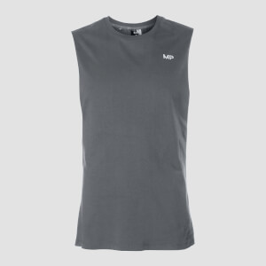 MP Herren Essentials Tank Top mit weitem Armausschnitt - Carbon