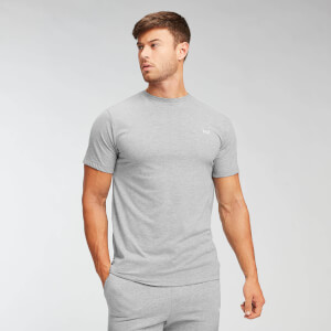 T-shirt MP Essentials pour hommes – Gris chiné