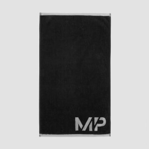 MP Performance Hand Towel – Svart