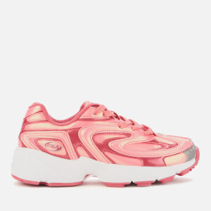 FILA Women's Creator Liquid Luster Trainers - Ballet Dancer/Raspberry Soda/White