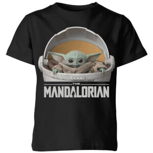 Camiseta The Mandalorian The Child - Niño - Negro