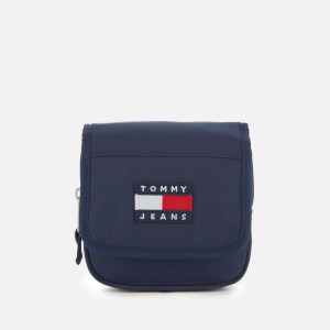 Tommy Jeans Women's Heritage Flap Nylon Cross Body Bag - Black Iris