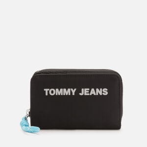 Tommy Jeans Women's Nautical Mix Small Zip Wallet - Black