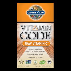 Vitamin Code Raw Vitamin C - 60 cápsulas