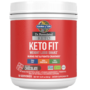 Garden of Life Keto Fit Chocolate 365G Powder