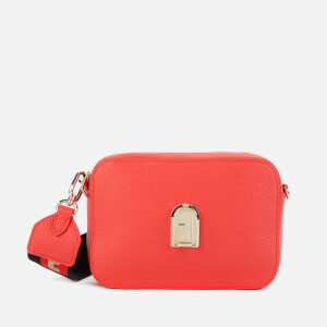 Furla Women's Sleek Mini Cross Body Bag - Red