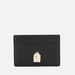 Furla Women's 1927 Small Credit Card Case - Black