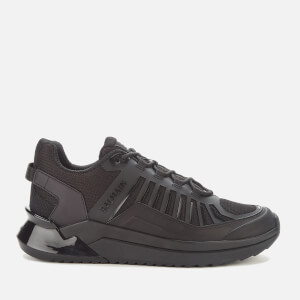 Balmain Men's B-Trail Leather & Mesh Trainers - Noir