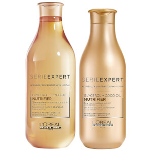 L'Oréal Professionnel Serie Expert Nutrifier Shampoo and Conditioner Duo
