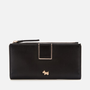 Radley Women's Bath Court Large Bifold Matinee Purse - Black