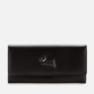 Radley Women's Heritage Dog Flapover Matinee Purse - Black