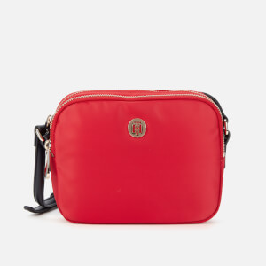 Tommy Hilfiger Women's Poppy Crossover Bag - Barbados Cherry