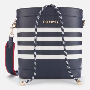 Tommy Hilfiger Women's Item Staple Bucket Bag - Sky Captain
