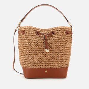 Lauren Ralph Lauren Women's Dryden Crochet Straw Bag - Natural