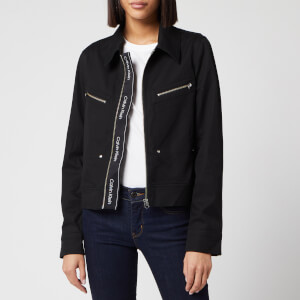 Calvin Klein Women's Western Jacket Update - Black