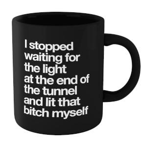 The Motivated Type I Stopped Waiting Mug - Black