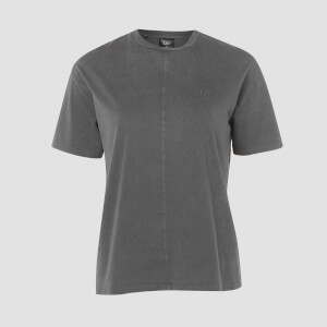 Camiseta Long Fit Raw Training - Carbon