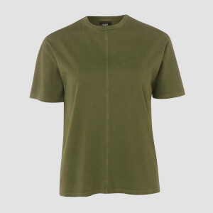 T-shirt Raw Training Long Line MP - Verde militare