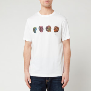 PS Paul Smith Men's Skulls T-Shirt - White