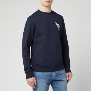 PS Paul Smith Men's Halo Zebra Sweatshirt - Dark Navy