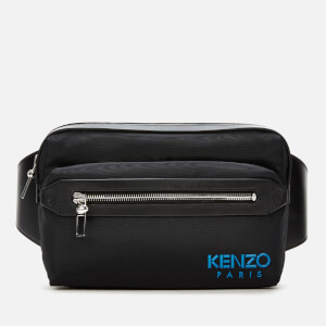 KENZO Men's Nylon Tech Belt Bag - Black