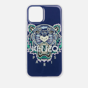 KENZO Men's Tiger iPhone 11 Case - Blue