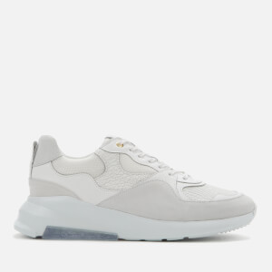 Android Homme Men's Malibu Raptor Emboss Running Style Trainers - Achromatic White