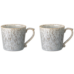 Denby Halo Speckle 2 Piece Large Mug Set