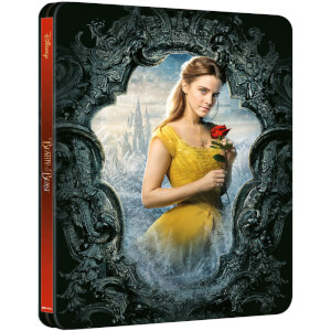 Beauty and the Beast (Live Action) – Zavvi Exclusive 4K Ultra HD Steelbook (Includes 2D Blu-ray)