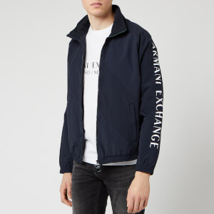 Armani Exchange Men's Zipped Blouson - Navy