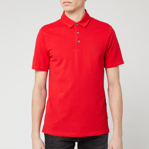 Armani Exchange Men's Basic Polo Shirt - Absolute Red