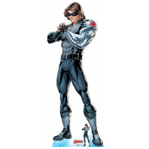 The Avengers Winter Soldier Lifesized Cardboard Cut Out