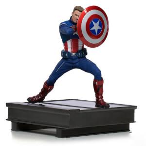 Statuette Captain America 2023 à l'échelle 1/10 BDS Art Scale Marvel Avengers: Endgame 19cm - Iron Studios