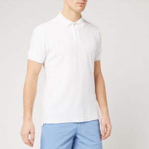 Orlebar Brown Men's Jarrett Towelling Polo Shirt - White