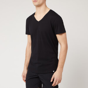 Orlebar Brown Men's V-Neck T-Shirt - Black