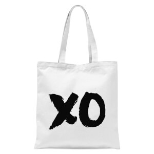 The Motivated Type XO Tote Bag - White