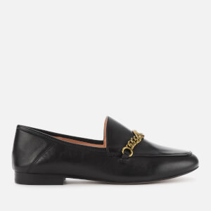 Coach Women's Helena C Chain Leather Loafers - Black