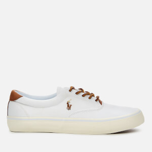 Polo Ralph Lauren Men's Thorton Canvas Low Top Trainers - White